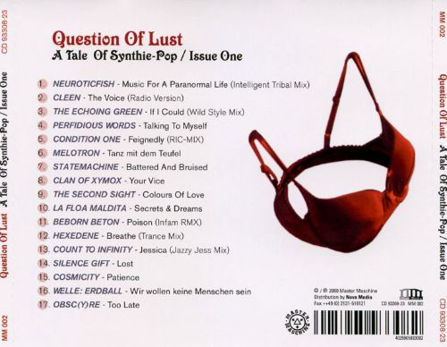 Question of Lust: Tale of Synthie-Pop