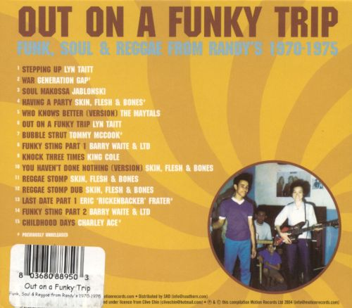 Out on a Funky Trip: Funk, Soul & Reggae From Randy's 1970-1975