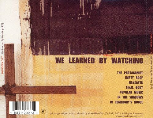 We Learned by Watching [EP]