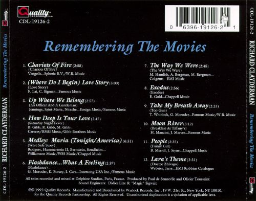 Remembering the Movies