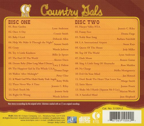 K-Tel Presents: Country Gals