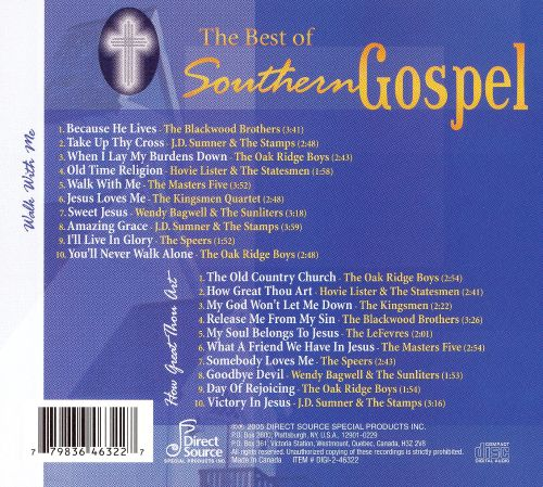 The Best of Southern Gospel [Direct Source]