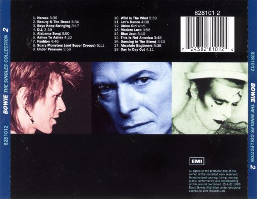 David Bowie - David Bowie - The Singles Collection - EMI