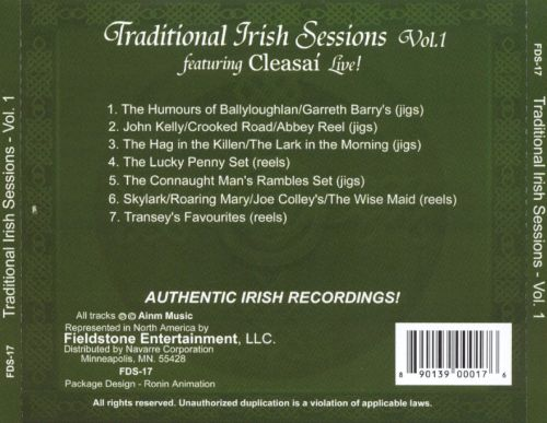 Traditional Irish Sessions Live, Vol. 1