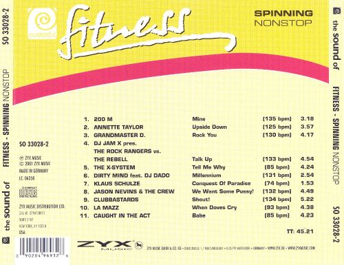 Sound of Fitness Spinning
