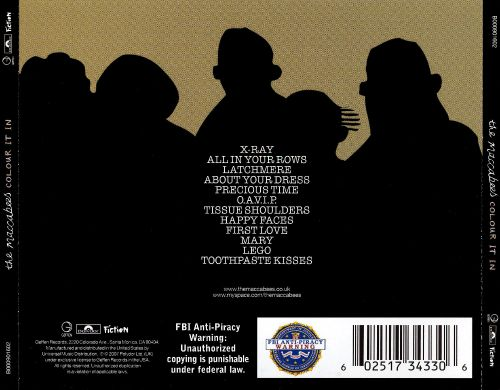 Colour It In The Maccabees Songs Reviews Credits Allmusic