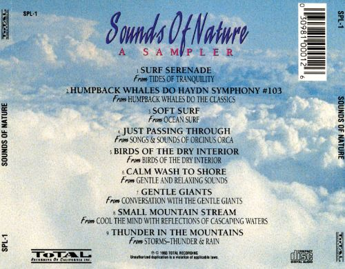 Sounds of Nature Sampler [Total]