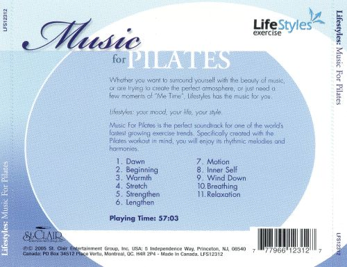 Music for Pilates [St. Clair]