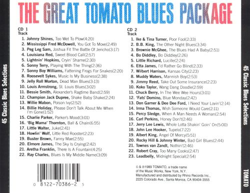 Great Tomato Blues Package