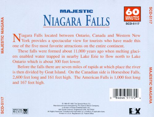 Majestic Niagara: Hear the Exhilerating Power of the World's Greatest Falls