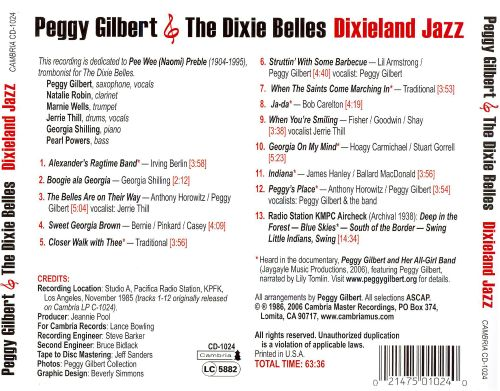 Peggy Gilbert and the Dixie Belles