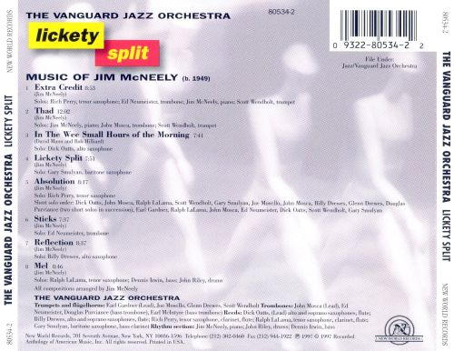 Lickety Split: The Music of Jim McNeely