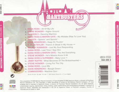 Motown Chartbusters, Vol. 9