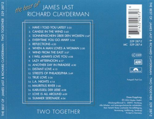 Two Together: The Best of James Last & Richard Clayderman