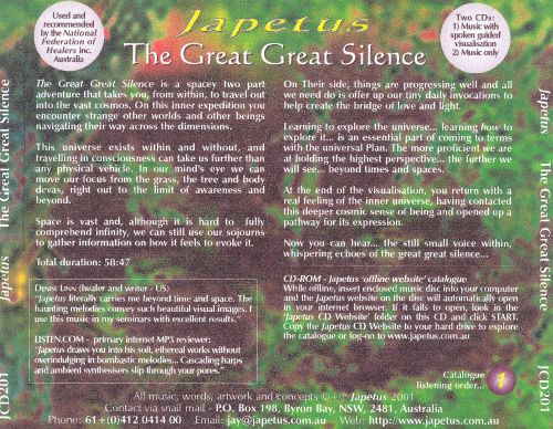 The Great Great Silence