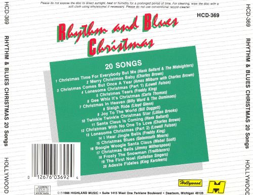 Rhythm & Blues Christmas: 20 Songs - Hank Ballard | Songs, Reviews ...