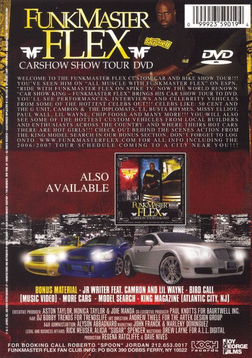 Carshow Tour Dvd Dvd Cd Funkmaster Flex Songs Reviews