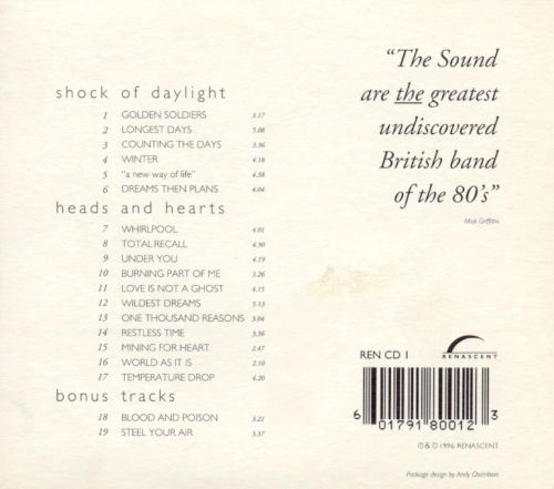 Shock of Daylight/Heads and Hearts