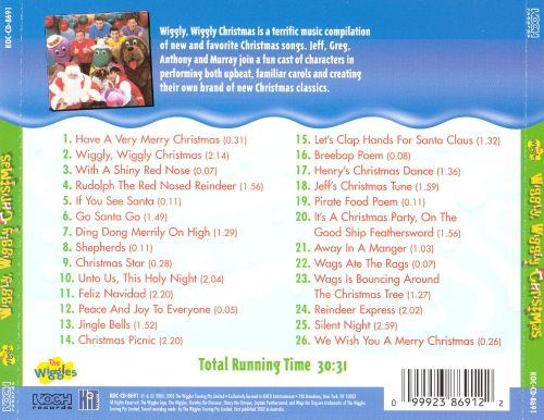 Wiggly Wiggly Christmas - The Wiggles | Songs, Reviews, Credits ...