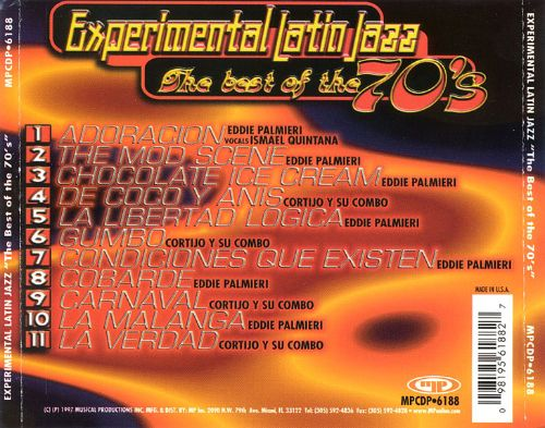 Experimental Latin Jazz: Best of the '70s