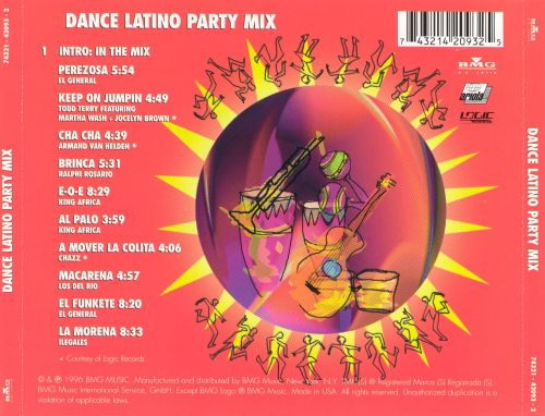 Dance Latino Party Mix: The Best of '96
