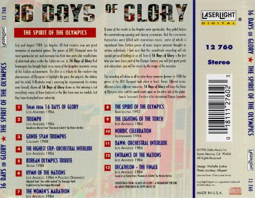 16 Days of Glory: The Spirit of the Olympics