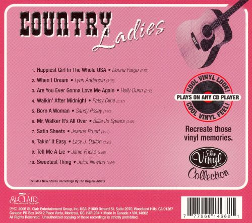 The Vinyl Collection: Country Ladies [St. Clair]