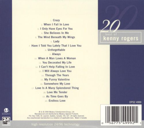 20 Best of Kenny Rogers
