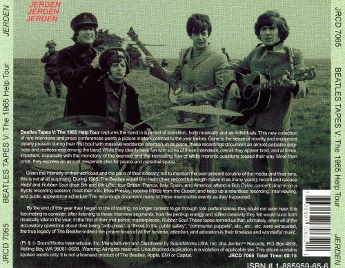 Beatles Tapes, Vol. 5: The 1965 Help Tour