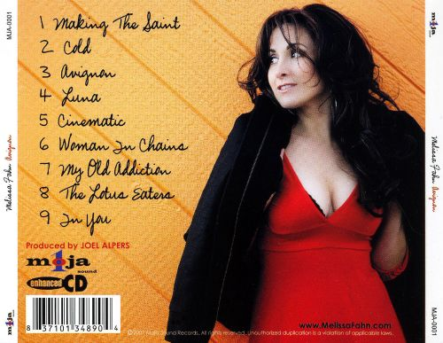 Image result for MELISSA FAHN DISCOGRAPHY