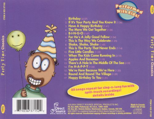 Party Time Classics [2004]