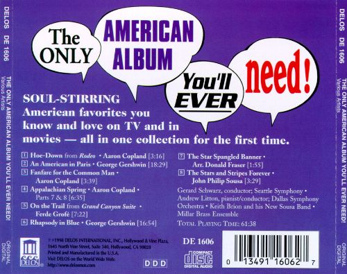The Only American Album You'll Ever Need