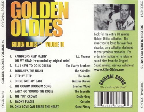 Golden Oldies, Vol. 10 [Original Sound 2002]