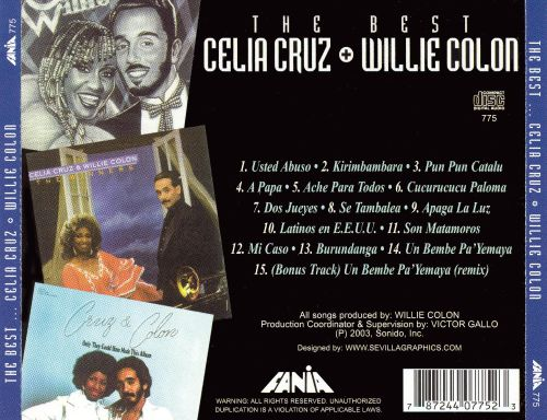 The Best [w/Willie Colon]