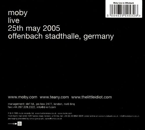 Live: Offenbach 05-25-05