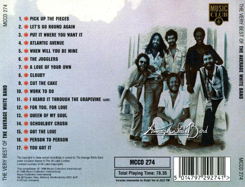 The Very Best of Average White Band [Music Club]