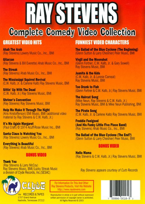 Complete Comedy Video Collection