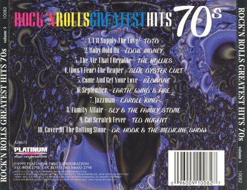 Rock'n Roll Greatest Hits 70's, Vol. 3