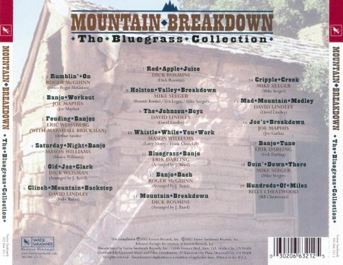 Moutain Breakdown: The Bluegrass Collection