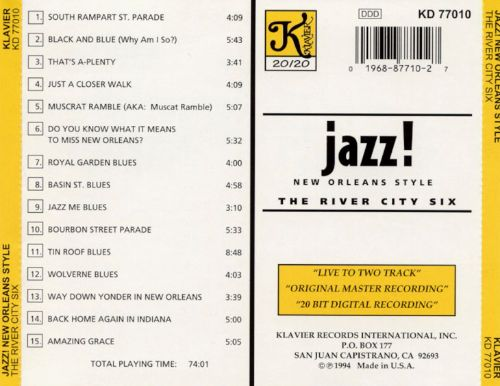 Jazz! New Orleans Style
