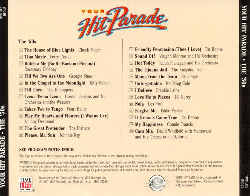 Your Hit Parade: The '50s