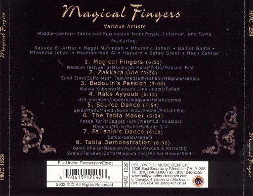 Magical Fingers: Middle Eastern Tabla