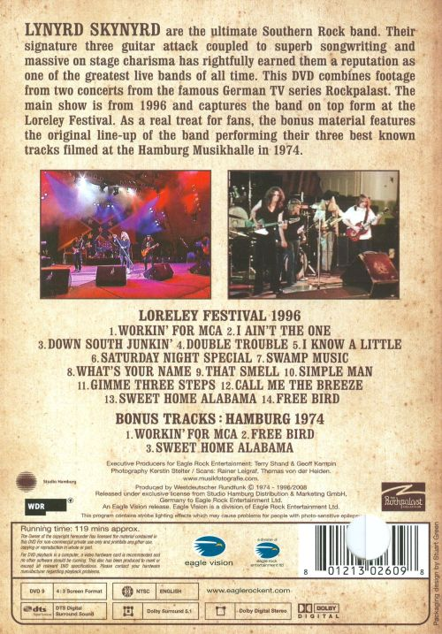 Sweet Home Alabama: Rockpalast Collection [Video]