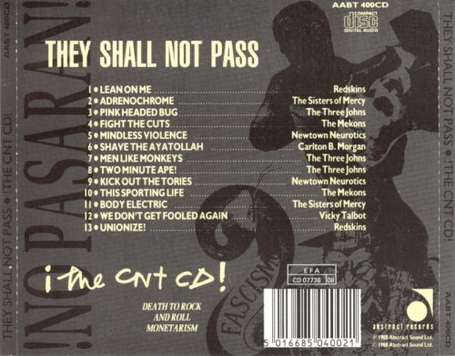 They Shall Not Pass: The CNT CD
