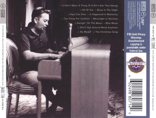 20th Century Masters - The Millennium Collection: The Best of Mel Tormé