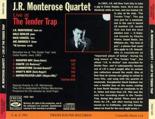 Live at the Tender Trap