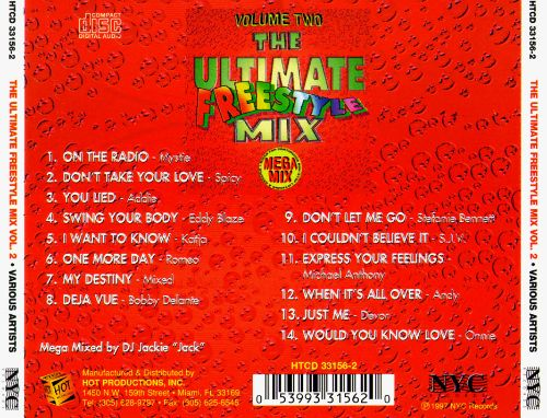 Ultimate Freestyle Mix, Vol. 2