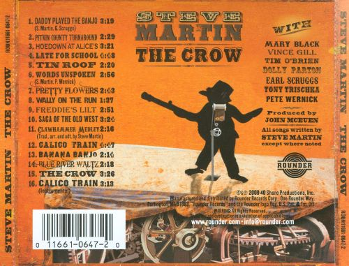 The crow new songs for the five string banjo steve martin songs the crow new songs for the five string banjo mightylinksfo