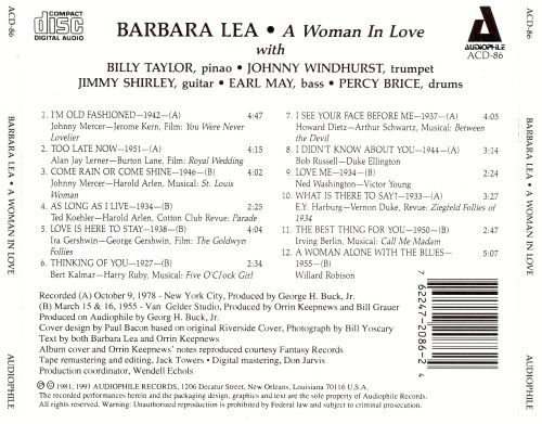 A Woman in Love [Compilation]
