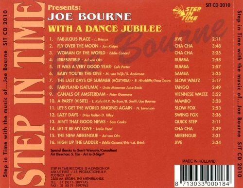 Step in Time with the Music of Joe Bourke: A Dance Jubilee